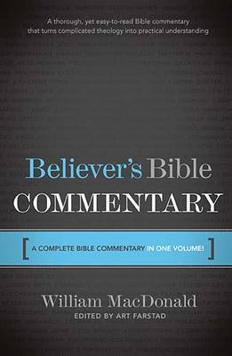Product picture Believers Bible Commentary (one volume)