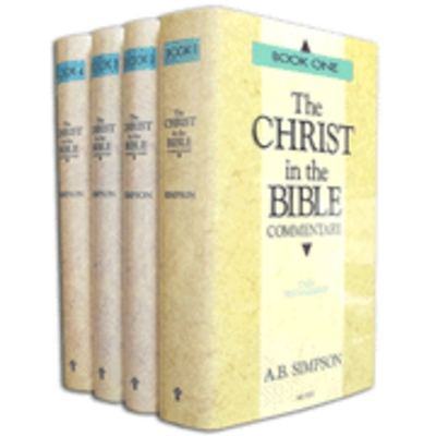 Product picture The Christ in the Bible by A.B. Simpson (4 vol.)