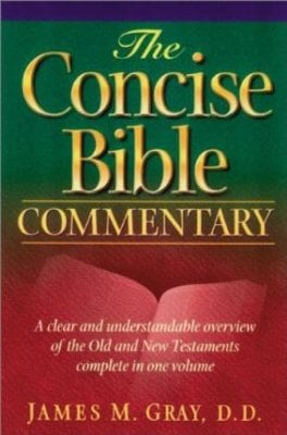 Product picture Concise Bible Commentary by James Gray