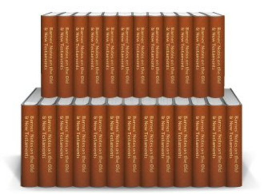 Product picture Barnes Notes on the Old Testament (15 vol.)