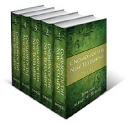 Product picture Bengel Gnomon of the New Testament (5 vols.)