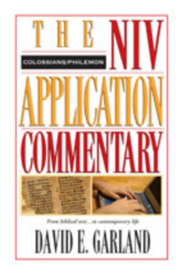 Product picture NIV Application Commentary on Colossians, Philemon