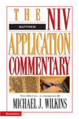 Product picture NIV Application Commentary on Matthew