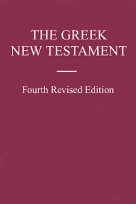Product picture UBS The Greek New Testament: Fourth Revised Edition